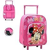 Disney Minnie Mouse AR643/17908 - Mochila carro capacidad 28 x 12 x 22 cm mochila infantil 34 cm , multicolor