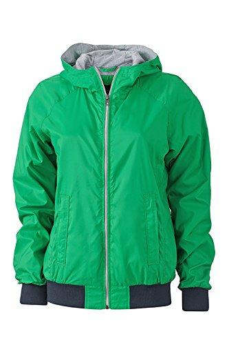 James & Nicholson Sports Jacket, Giacca Donna fern-Green/Navy