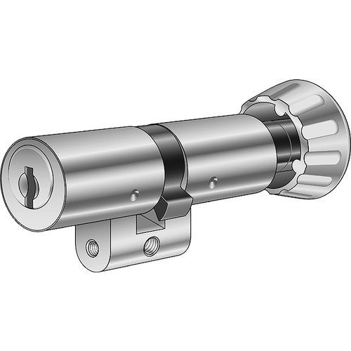 Kaba Cerradura botón giratorio de doble cilindro Kaba 81519/32,5/32
