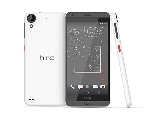 HTC Desire 530 99HAHW046-00 - Smartphone  16 GB  4G  SIM   nica  Android  NanoSIM  EDGE  GPRS  GSM  UMTS  LTE   color Blanco  Solid Stratus wei