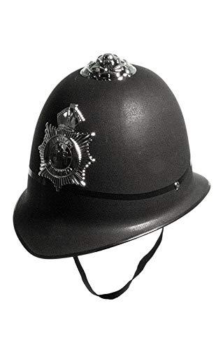 Horror-Shop Britischer Polizisten Helm (Die Britische Polizei Kostüm)