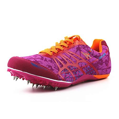 Willsky Zapatos De Atletismo para Hombres, Clavos para Correr Livianos Clavos para...