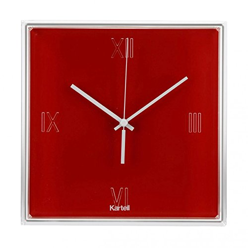 kartell-tictac-orologio-colore-rosso