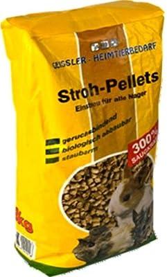 60 l = 24 kg Strohpellets, Pellets, Nagerfutter, Futter von 1663 - Du und dein Garten