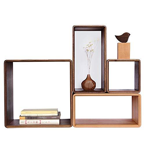 TYI Holzschrank, abnehmbare freie Kombination, freistehend, robust und langlebig, modernes Zuhause, für Dekoration und Aufbewahrung im Wohnzimmer Badezimmer -