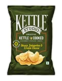 #9: Kettle Studio Sharp Jalapeno and Cheese Cream, (Pack of 5)