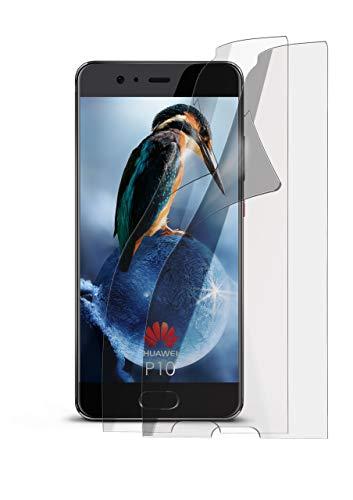 2X Huawei P10 | Schutzfolie Matt Display Schutz [Anti-Reflex] Screen Protector Fingerprint Handy-Folie Matte Displayschutz-Folie für Huawei P10 Displayfolie