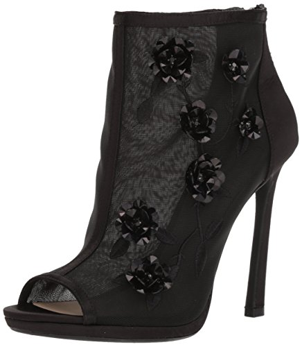 Jessica Simpson Frauen Pedell Peep Toe Fashion Stiefel Schwarz Groesse 5.5 US /36 EU - Jessica Simpson Peep Toe
