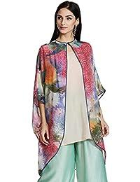 AL - Indian Luxury Women's Silk Asymmetrical Hemline Kurta