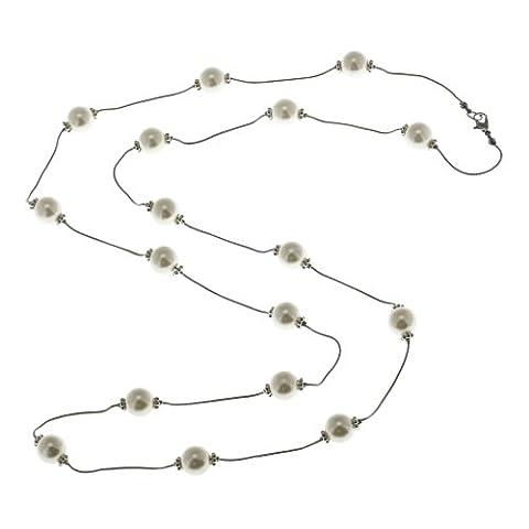 Collier de perles corde Comme Perle bijoux à la mode indienne pour les femmes