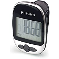 Pingko Walking Pedometer Accurately Track Steps Portable Sport Pedometer Step/distance/calories/Counter Fitness Tracker, Calorie Counter