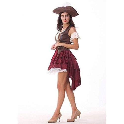 Fashion-Cos1 Halloween Kostüme Frauen Sexy Piraten Kostüm Cosplay Maskerade Spiel Uniform Role Play