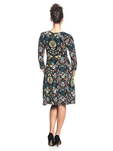 Vive Maria My Lovely Boheme Dress, Vestito Donna Mehrfarbig (Black Allover)