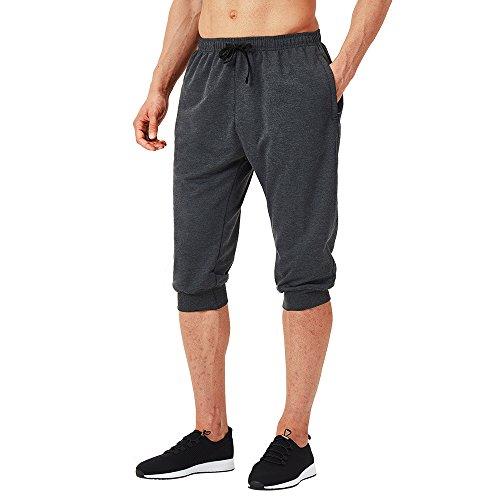 NAVISKIN 3/4 Pantalones Capri Fitness Hombre Pirata