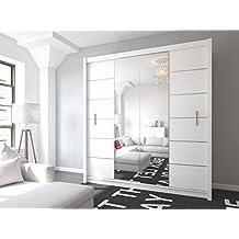 Schlafzimmerschrank schiebetür  Suchergebnis auf Amazon.de für: kleiderschrank schiebetür spiegel