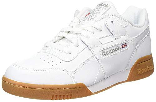 Reebok Jungen Workout Plus Fitnessschuhe, Weiß (White/Carbon/Classic Red Royal/Gu 000), 37.5 EU - Plus Training Schuh