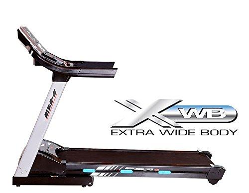 BH Fitness F9R DUAL G6520N klappbares Laufband - 4.0PS-Motor - Elektrische Schrägstellung bis zu 12% Steigung - Pulsmessung - integrierter Ventilator - Trinkflaschenhalter