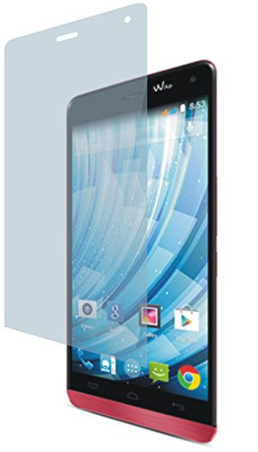 4ProTec Wiko Getaway (2 Stück) Premium Bildschirmschutzfolie Displayschutzfolie kristallklar Schutzhülle Bildschirmschutz Bildschirmfolie Folie