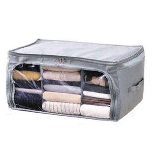 Kicode BigFamily Bambus-Kohle Faser-Kleidung Veranstalter Taschen Aufbewahrungstasche