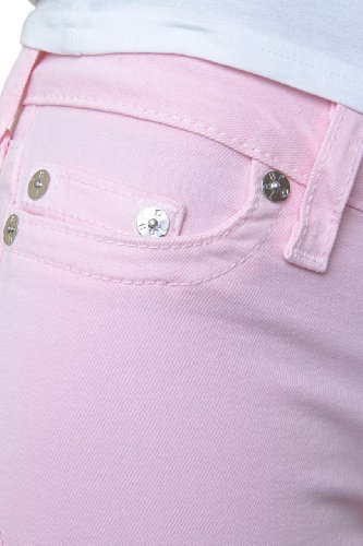 True Religion Jean Skinny HALLE HIGHER RISE SKINNY Rose