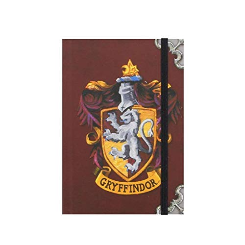 Harry Potter Gryffindor Hogwarts casa insignia portátil A6 Diario Ofi