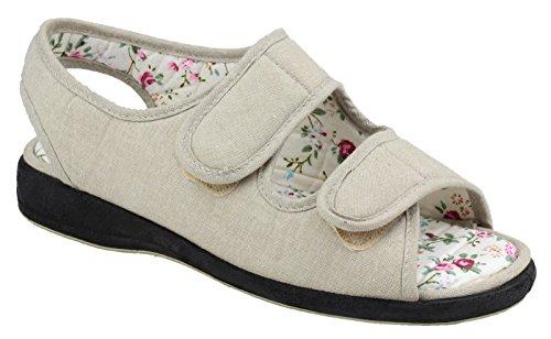 Divaz Fonda Ladies chaussures dété Beige