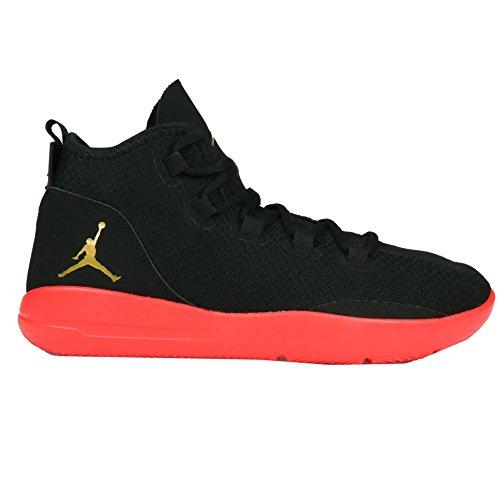 Nike Herren Jordan Reveal Bg Basketball Turnschuhe, Black (Black (Schwarz / Goldmünze-Infrarot-Mtlc 23)), 38,5 EU