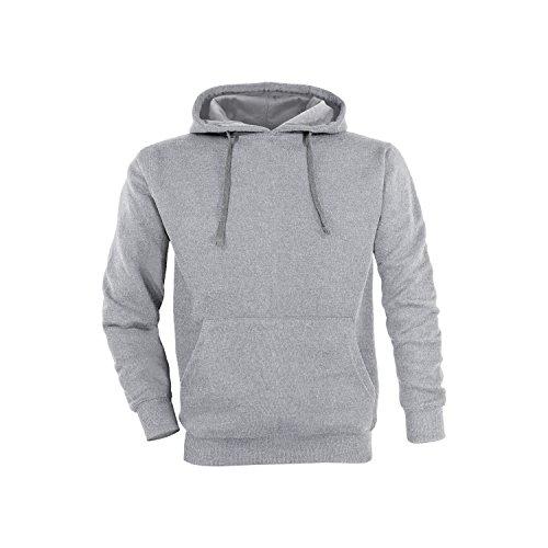 Basic Felpa con cappuccio / taglie S / colori grigio chiaro