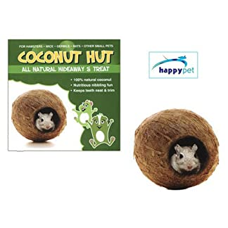 Small Pet Toy Coconut Hut 7
