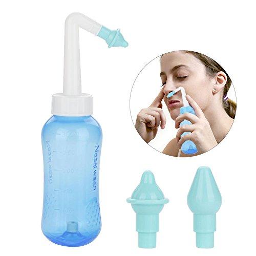 Nasendusche, Nasale Rinser Filfeel Nasale Wash Cleaner Nasale Nase Spülen Flasche Nasale Bewässerung Rinser Nase Pflege für Erwachsene und Kinder Behandlung