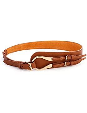 Hebilla De Paseo Oblicua Ms. Cinturón Ancho/Cinturón Decorativo/Correa De Moda Coreana