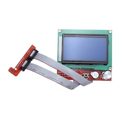Redrex Vollgrafik LCD 12864 Smart Display-Controller für RepRap RAMPS 1.4 3D-Drucker Mendel Prusa Arduino Mega Brett