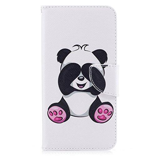 Coque pour iphone 7 Plus WYSTORE Coloré Motif PU Cuir portefeuille Housse Etui pour iphone 7 Plus (Ecran: 5,5 pouces) Case Coque Protection avec Béquille Flip Cover avec carte de crédit Slots - A04 Gr A07