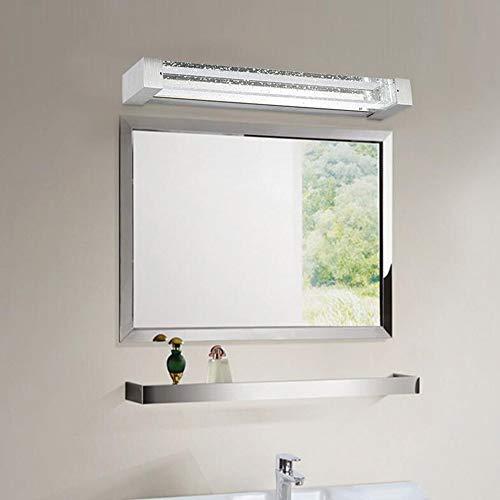 XP Hauptbadezimmer-Spiegel-Scheinwerfer-Spiegel-vordere Lichter führten Badezimmer-Badezimmer-Moderne minimalistische Blasen-Spalte Kristallspiegel-Kabinett beleuchtet Verfassungs-Spiegel-Lampen-SCHL -