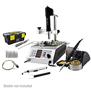 Aoyue 866 3 in 1 Reworking Station, Soldering iron, Hot Air Gun, and Pre-heater
