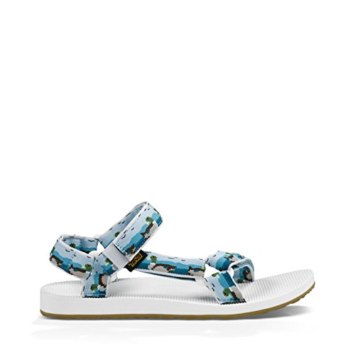 Teva Original Universal M's, Sandlai Sportivi Uomo Ducks Light Blue