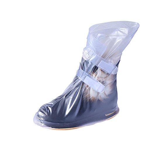 Meijunter Einstellbar Rainproof Wasserdicht Regen Boots Schuhe Covers Abdeckungen Overshoes Slip-resistant Reusable Für Männer Frauen Jungen Mädchen Ladies (Slip Resistant Männer Schuhe)