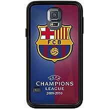 coques-iphone–Carcasa FC Barcelona para Samsung Galaxy S5de Nico, compatible con Samsung Galaxy S5, color negro