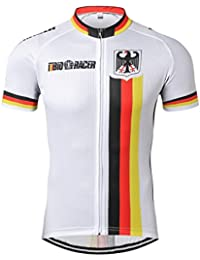 weimo Star Alemania Ciclismo Jersey Hombres Ciclismo Jersey Ropa bicicleta Top Hombres Ropa Ciclismo Maillot Mtb Camiseta RACING Sport…