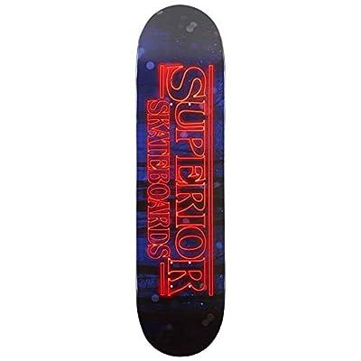 """Superior Stranger Boards Deck Black/Red - 8"""""""