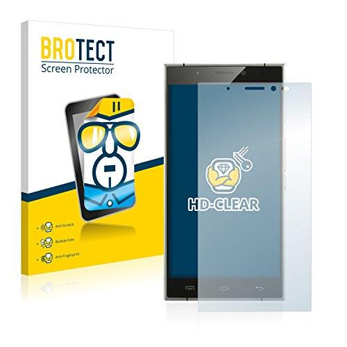 BROTECT Schutzfolie kompatibel mit Doogee F5 [2er Pack] klare Bildschirmschutz-Folie