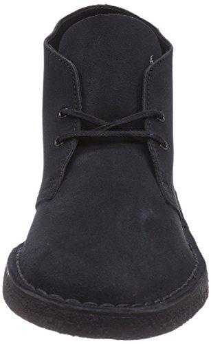 Clarks Originals Desert Boot, Stivali Chukka Uomo Blu (Navy)