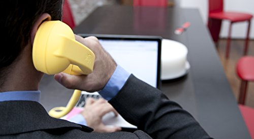 Hi-Fun Hi-Ring - Auricular telefónico para teléfono móvil, diseño retro