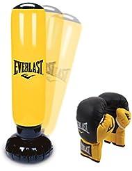 Everlast Kids Fitness Kit–Inflatable Boxturm and Gloves