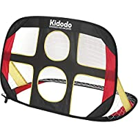 Kidodo Football Goal Posts for Kids Pop up Goal for Chidren Foldable and Portable Soccer Goal net Outdoor Garden and Indoor Toy