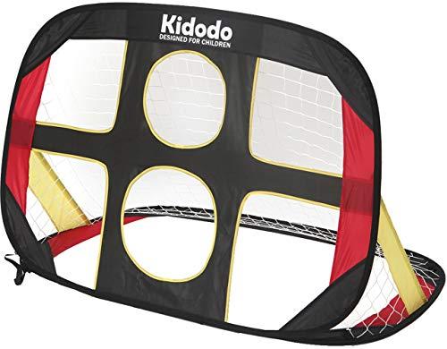 Kidodo Fussballtor Kinder Fußballtor Torwand Pop up Tor Fussballtore für Garten (Ein Fußballtor Hoch Wie Ist)