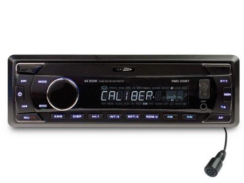 Caliber RMD231BT Radio MP3/USB/SD/Bluetooth Noir