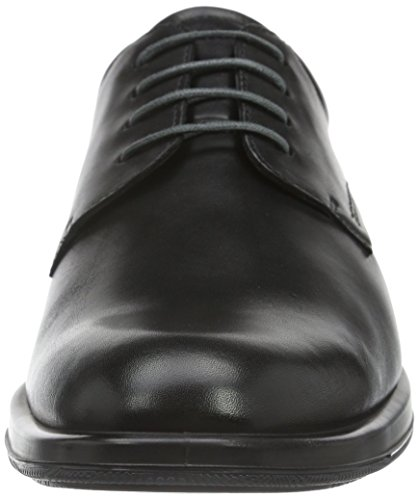 Ecco Jared, Derby Homme Noir (Black 01001)