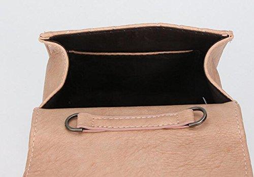 Kleine Quadratische Tasche Retro Verschlusskette Kurierbeutelhandtasche Einfache Wilde Schulterbeutel Yellow