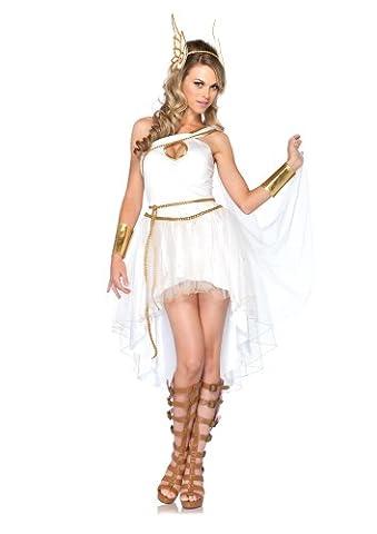 Leg Avenue 85117 - Göttinenkostüm, Größe S/M, weiß (Griechische Göttin Kopfschmuck Kostüm)